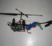 Flying Robot With Search & Rescue Feature For An Accident Area